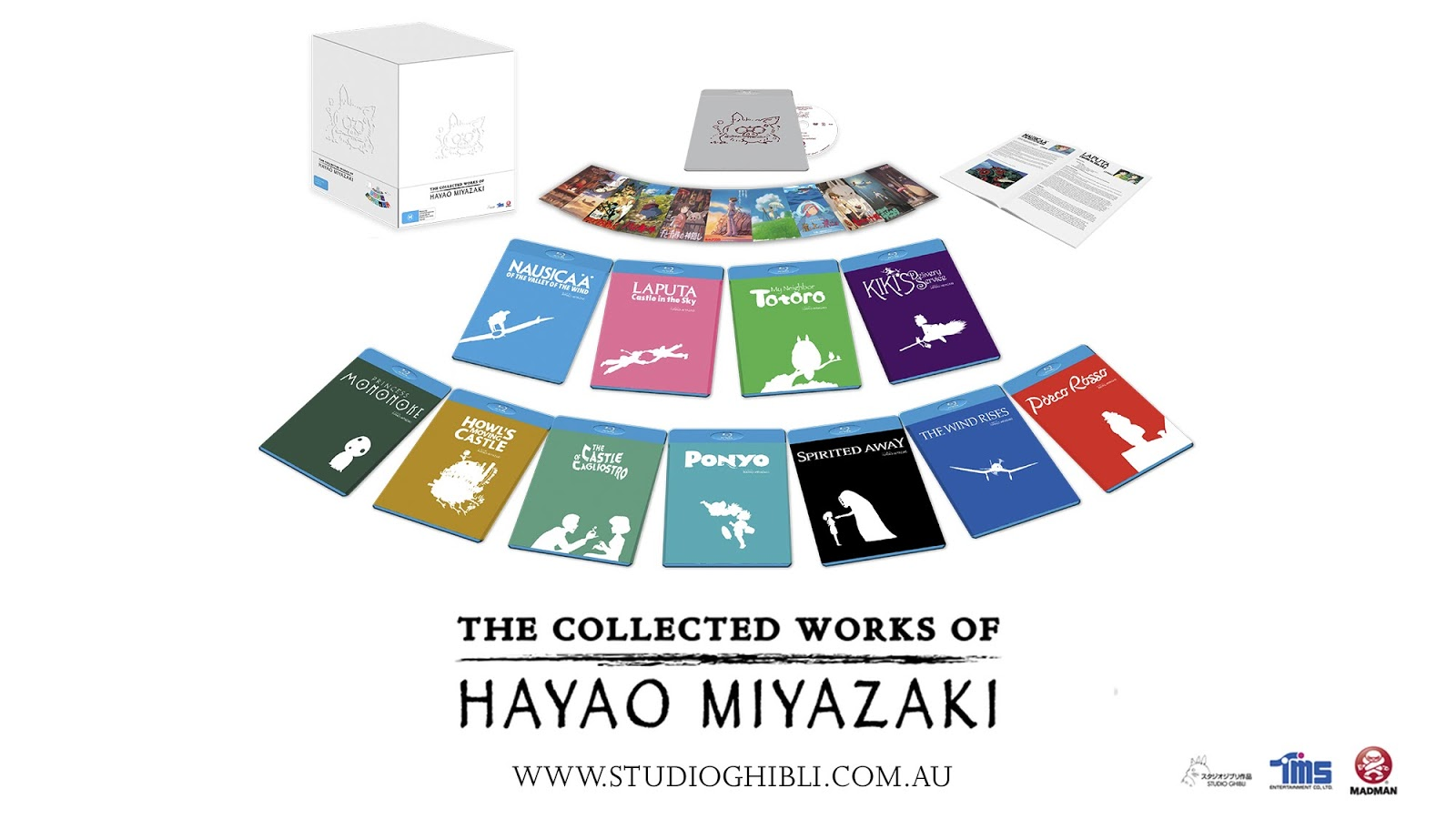 the collected works of hayao miyazaki review