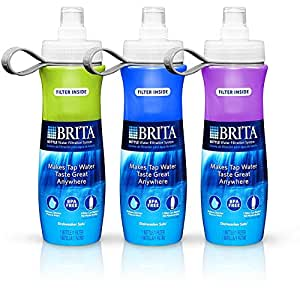 brita sport water filter bottle review