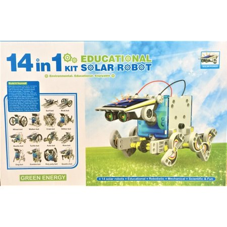 14 in 1 solar robot kit review