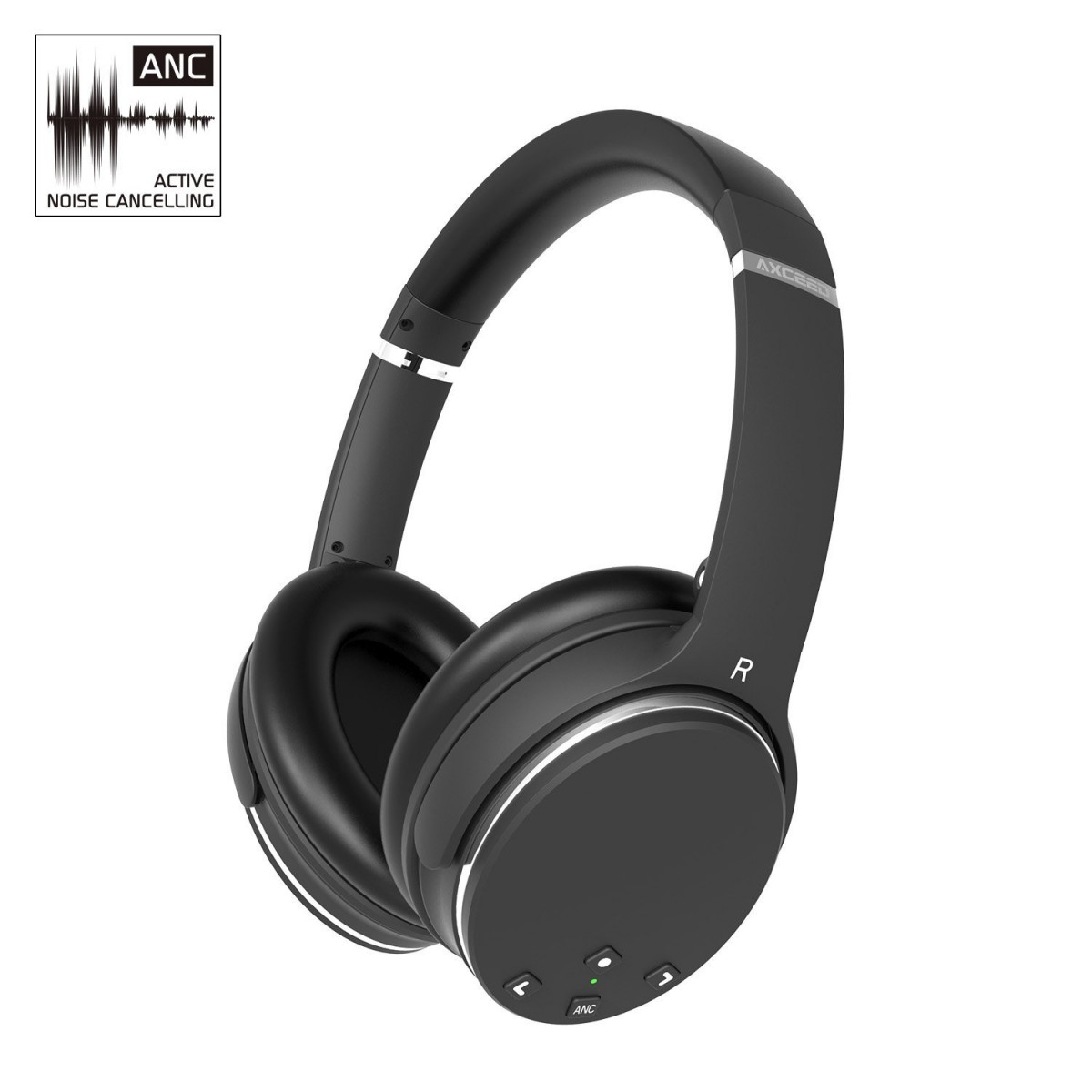 axceed noise cancelling headphones review