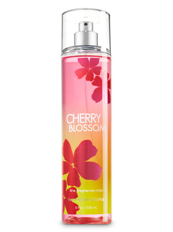 bath and body works japanese cherry blossom mist review