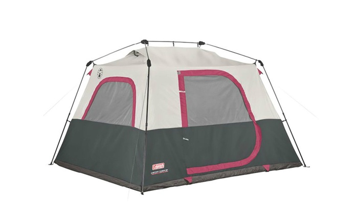 coleman 6 person instant cabin tent review