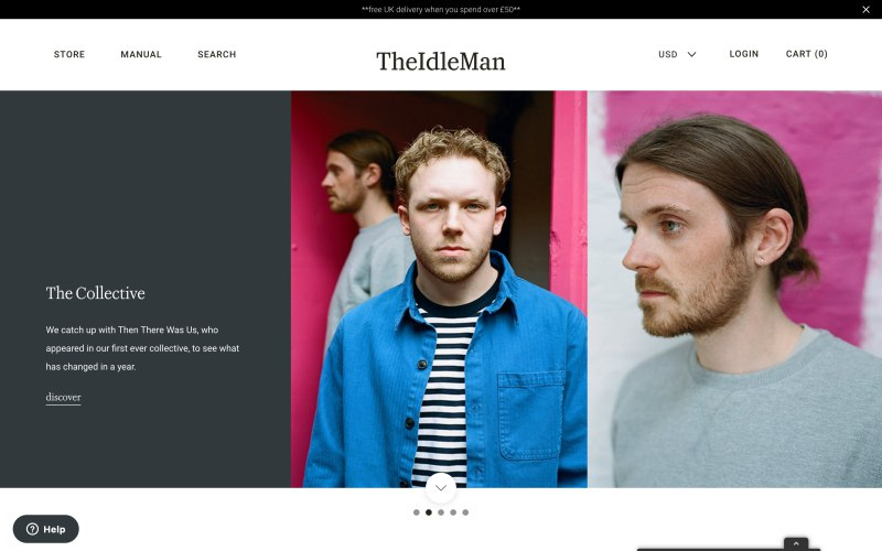 the idle man clothing review