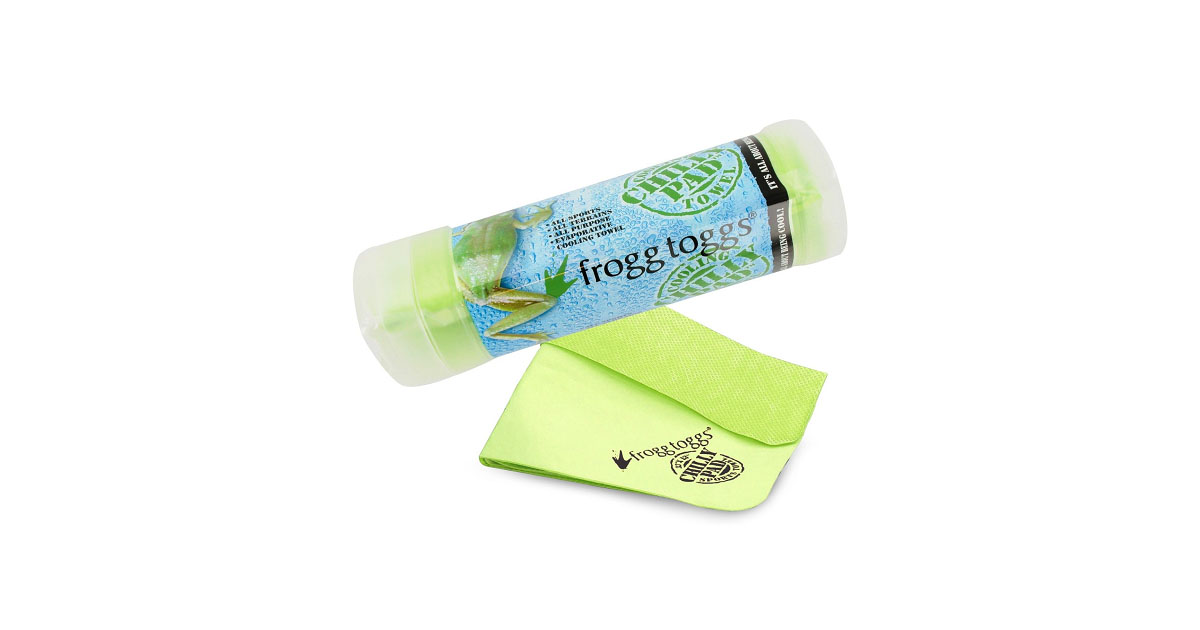 frogg toggs chilly pad cooling towel review